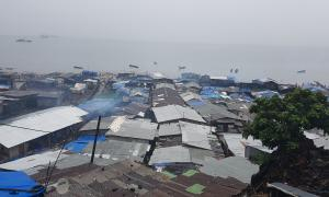 A Freetown slum