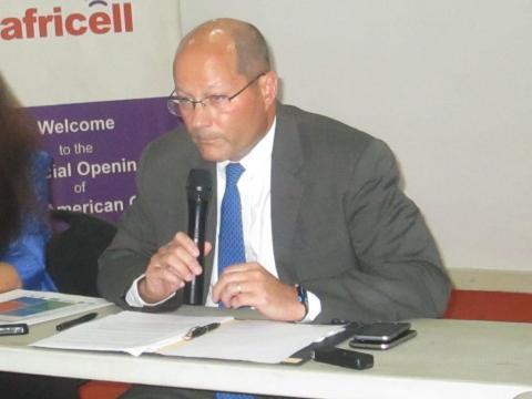 John Hoover, US Ambassador to Sierra Leone