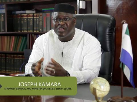 Joseph Kamara, Attorney General